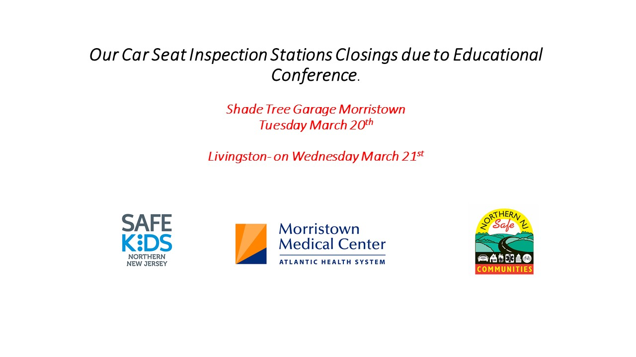 Car Seat Stations Closings March 20th And 21st