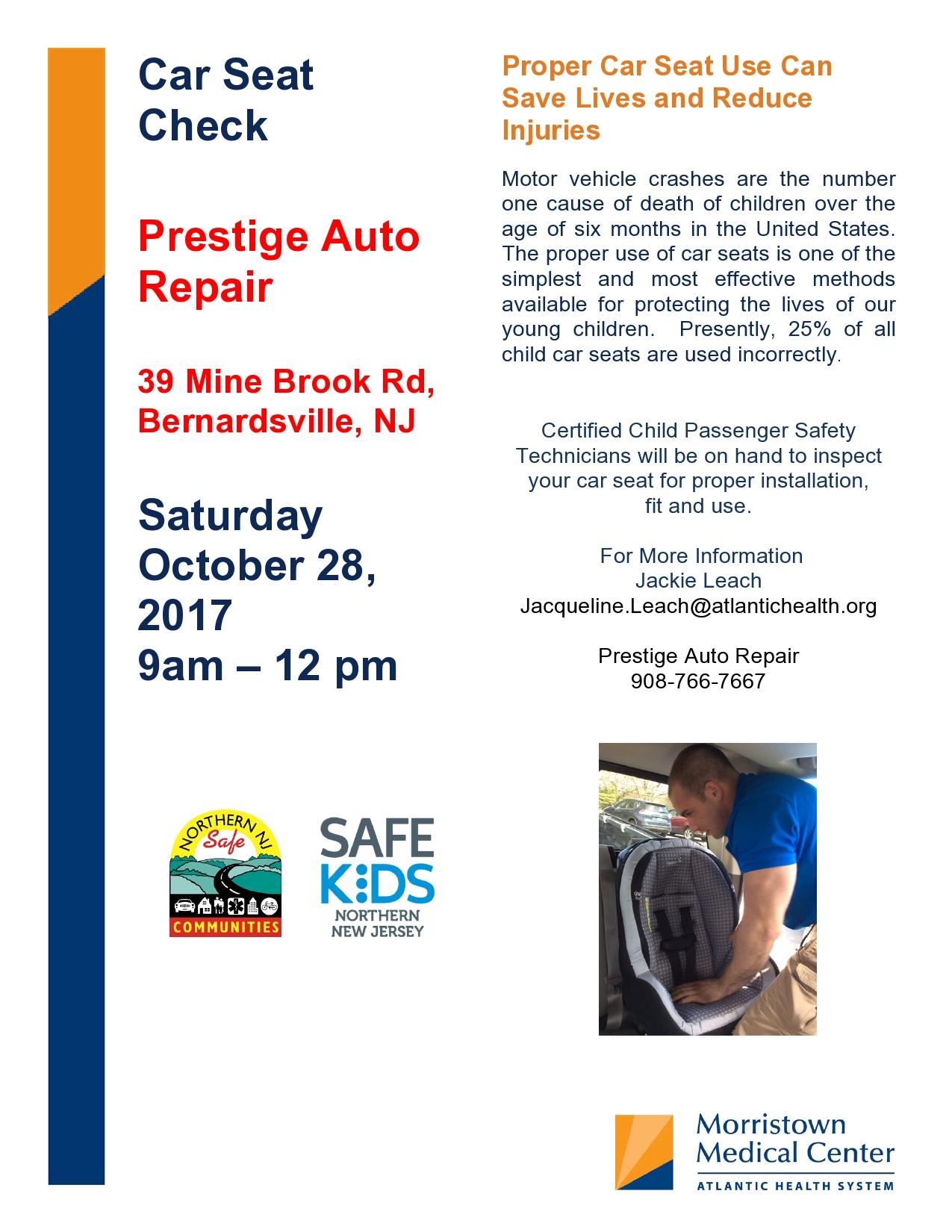 car seat inspection in bernardsville oct 28th 9 12 noon prevention works. Black Bedroom Furniture Sets. Home Design Ideas