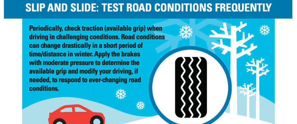 Test Road Conditions Frequently