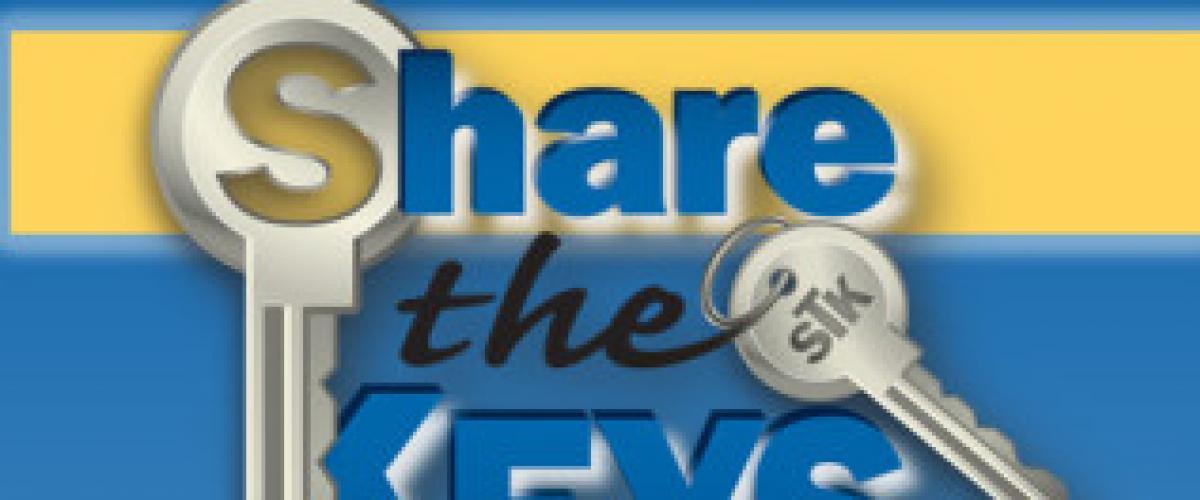 Share the Keys Facilitator Course - Virtual