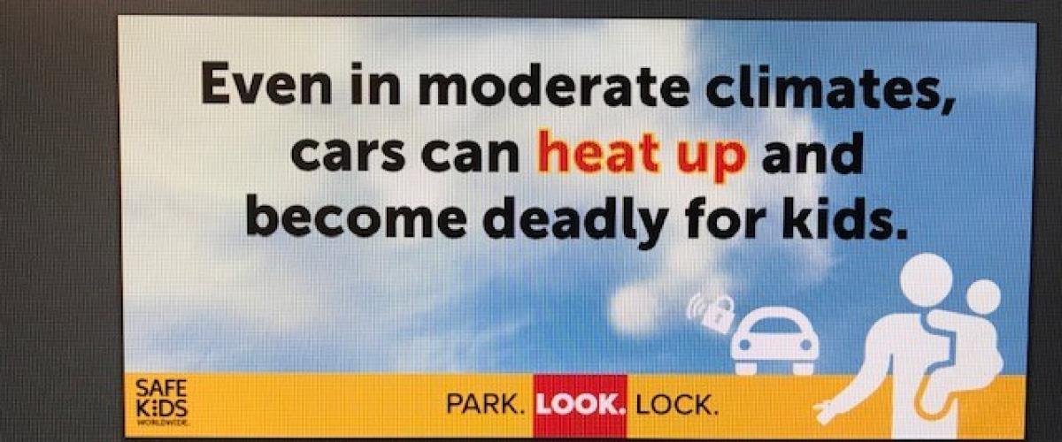 #CheckForBaby #HeatstrokeKills