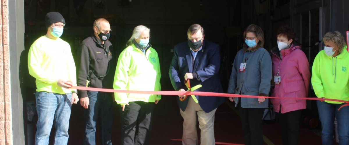 Ribbon Cutting - New Car Seat Inspection Station in Denville